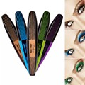 Beauty color mascara professional makeup mascara fashion lady essential big eyes make up mascara  A2