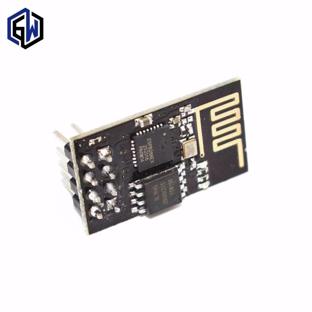 Version améliorée ESP-01 ESP8266 série WIFI sans fil module émetteur-récepteur sans fil ESP01 ESP8266-01