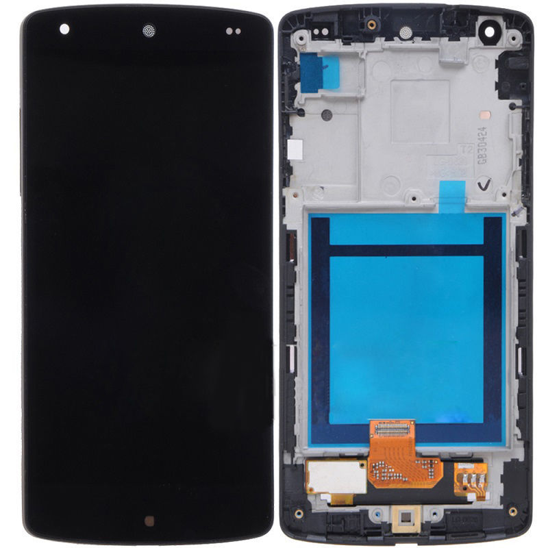 New LCD Screen Display With Touch Screen Digitizer Frame Assembly For LG Google Nexus 5X H791 H790 free shipping new lcd display with touch screen digitizer red frame assembly for lg google nexus 5 d820 d821 free shipping