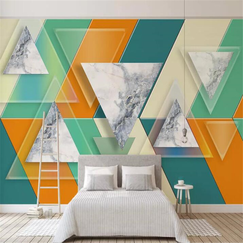 Customized large murals 3D creative TV background wall professional production wholesale wallpaper custom photo