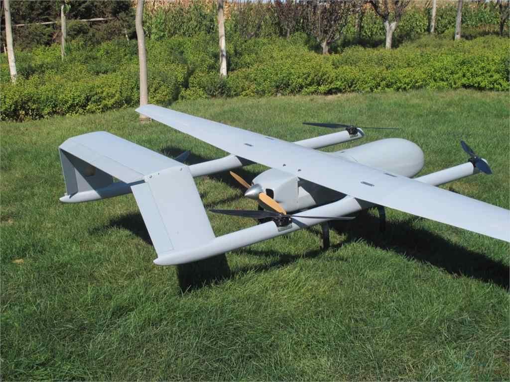New drone Vertical takeoff and landing new Skyeye 4580mm wingspan H-Tail  VTOL UAV Platform Frame Kit