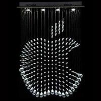 Современный Apple Формы Топ Кристалл K9 СВЕТОДИОД Люстра для Столовой