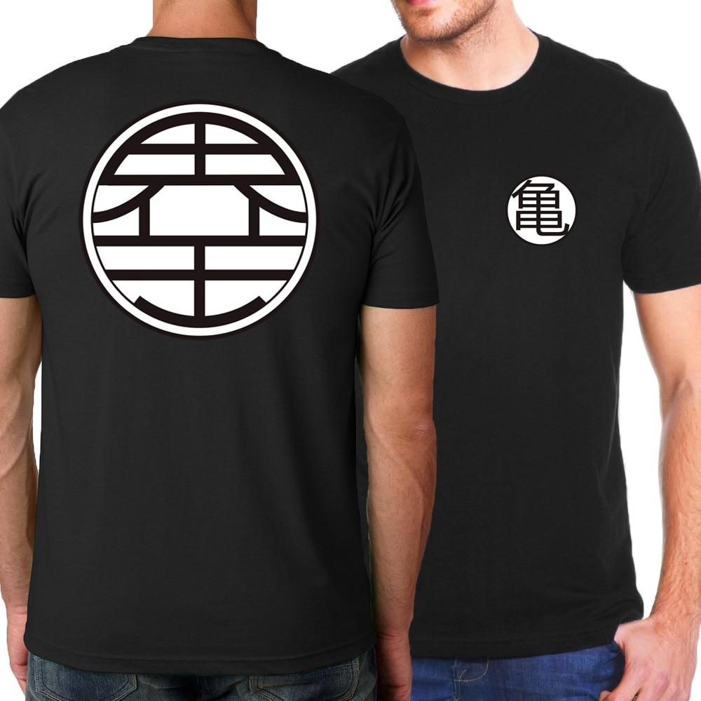 New 2019 Summer Hot Japan Anime Dragon Ball Z T Shirts Men Streetwear Hip Hop Men's T-shirts Brand Clothing T Shirt Kpop Tops