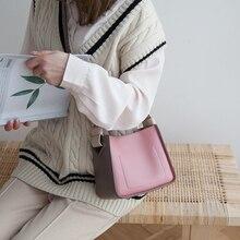 цены VENOF new fashion small bucket bags for women contrast color Shoulder crossbody Bag Luxury Handbags Women Bag Designer for 2019
