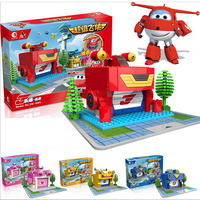 Super Wings Action Figure Toys Superwings ABS Deformation Airplane Robot Transformation toys for children Birthday Present