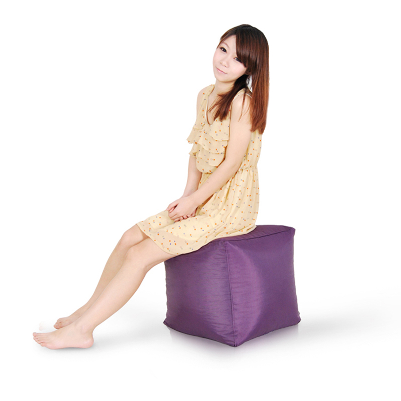 Image 3 - Highest Quality Cube Bean Bag Sofa Cover Chairs Waterproof Seat Living Room Gaming Chair Seat Bean Bag(filling is not included)-in Bean Bag Sofas from Furniture