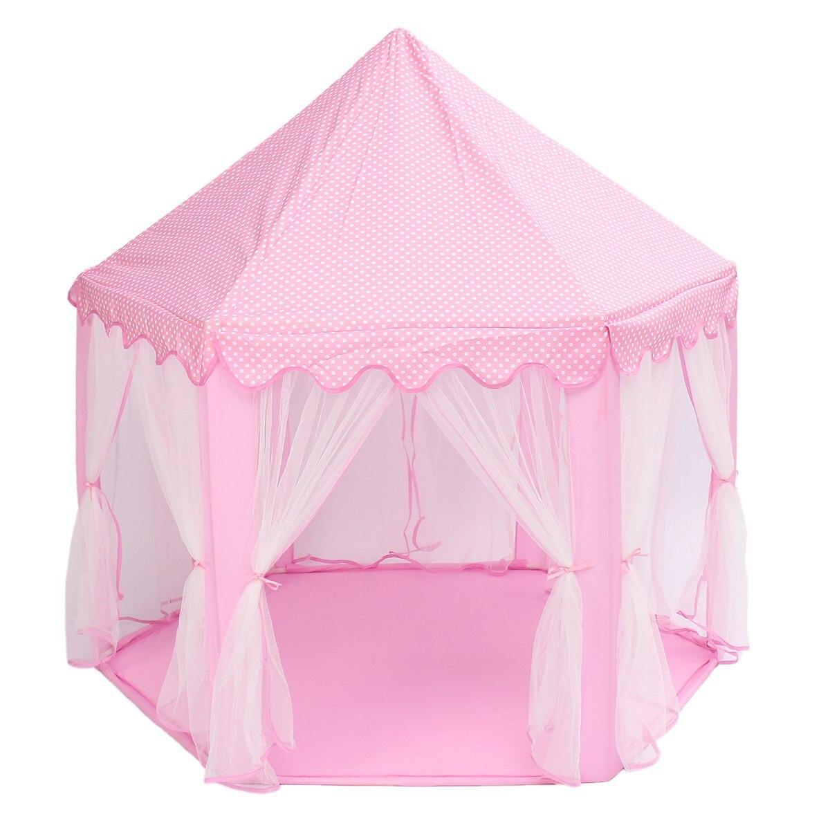 Portable Princesse Château Jouer Tente Activité Fée Maison Fun Playhouse Tente De Plage Bébé jouer Jouet Cadeau Pour Les Enfants - 3