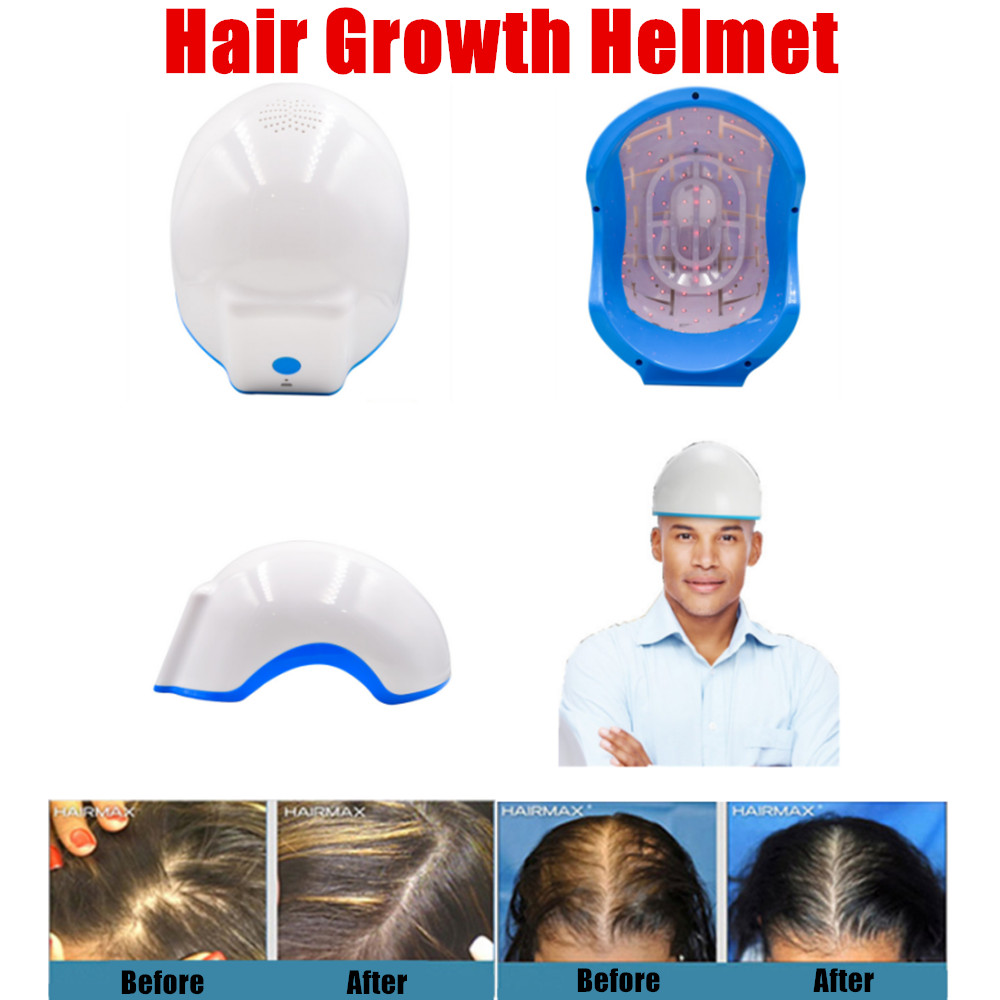 Hair Growth Helmet Laser Hair Growing Device 650nm Soft Laser Lower Energy Infrared Rays Prevent Follicle Atrophy free shipping kapro 810 clamp device laser infrared horizontal marking ruler