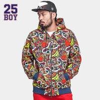 25BOY HEA S Logo Hoodie Trendy Streetwear