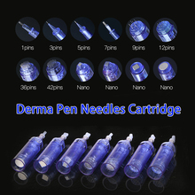 10pcs/lot Dr Pen A6 1 3 5 7 9 12 36 42 pins Nano Needle Cartridge For MYM Derma Auto Microneedling Electric