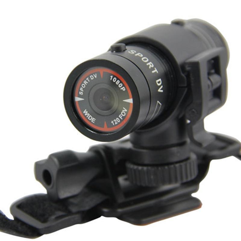 bilder für FULL HD 1080 P Kleine Sport Action Helmkamera DV DVR CAM Fackel-klipp-einfassungs-fahrrad-vorderes Camcorder