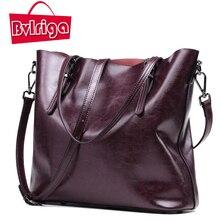 BVLRIGA Genuino cuero bolsa de mensajero de las mujeres bolsas de asas grande de lujo bolsos mujer bolsos bolsos de hombro del diseñador famoso marcas bolsos