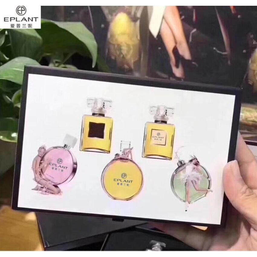 EPLAT Corps Anti-Transpirant Liquide Femme Parfums et Parfums pour Femmes 5in1 Nouveau dans la boîte * Échantillon taille *