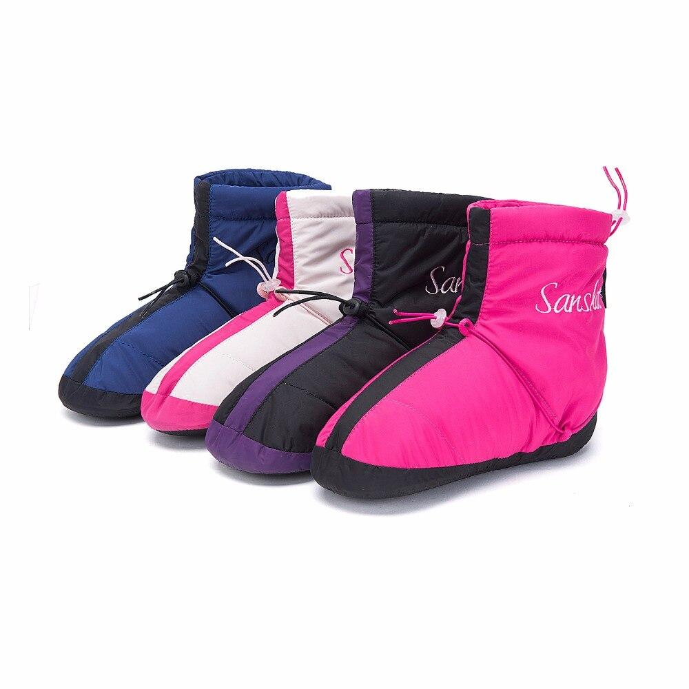 Sansha Adult Ballet Warm Up Boots Waterproof Anti Skid Sole Women Girls Men Indoor Thickening Dance