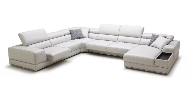 Divani per soggiorno, Divano set mobili soggiorno con moderno divano ...