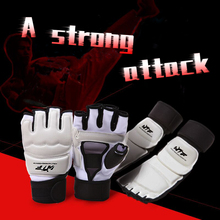Brand New Taekwondo Gloves Foot Protectors, Adult Children  Hand Guards, Half Fingers Boxing Boxer Protectors A