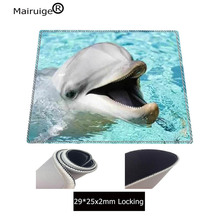 Mairuige Dolphin in the water Large White Lock Edge Mouse pad Desk Cushion Table keyboard Mat Mousepad game gaming XL Mouse pad