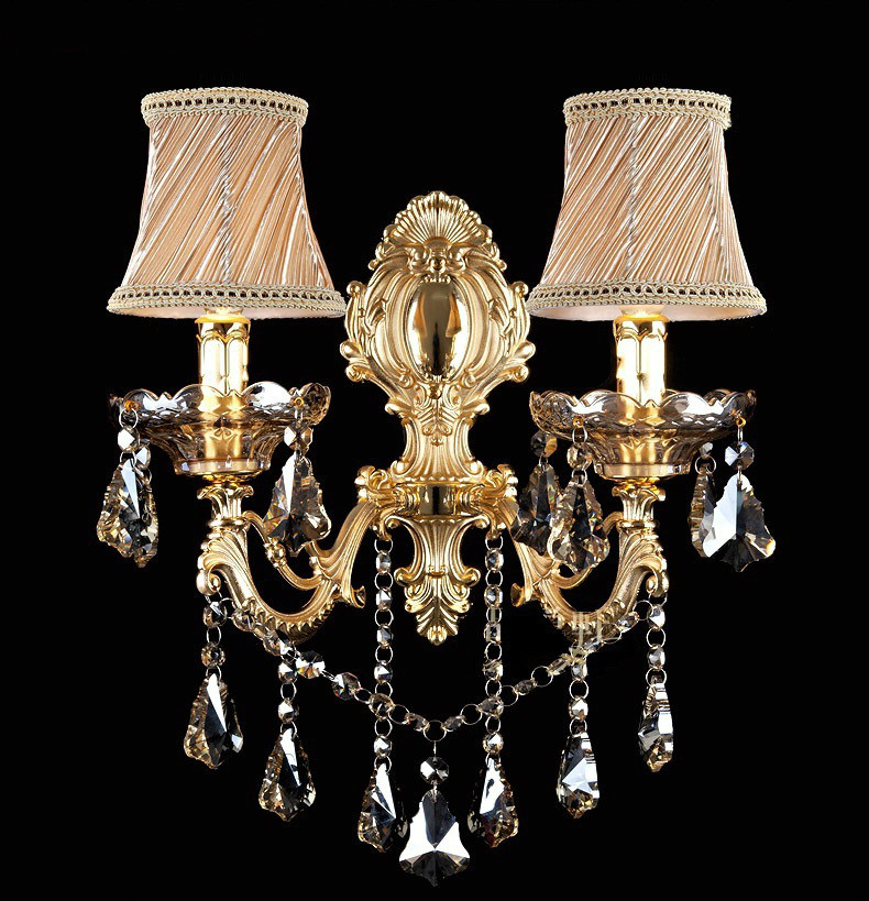 Fashion crystal wall lamp Sconce Light candle wall lamp stair lamp bedroom bedside lamp mirror lightFashion crystal wall lamp Sconce Light candle wall lamp stair lamp bedroom bedside lamp mirror light