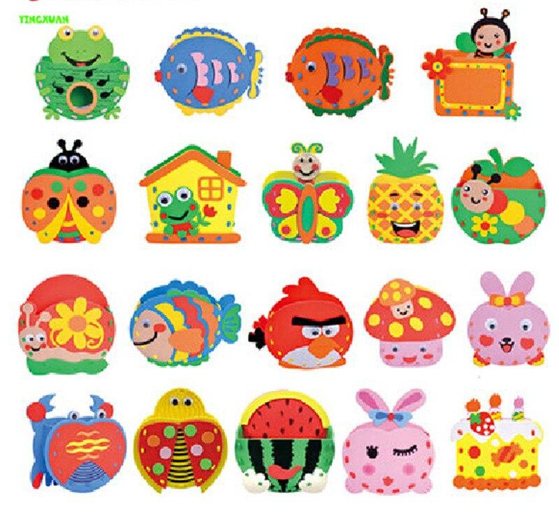 Buy 4pcs lot eva cartoon pen holder for Craft kits for kids in bulk