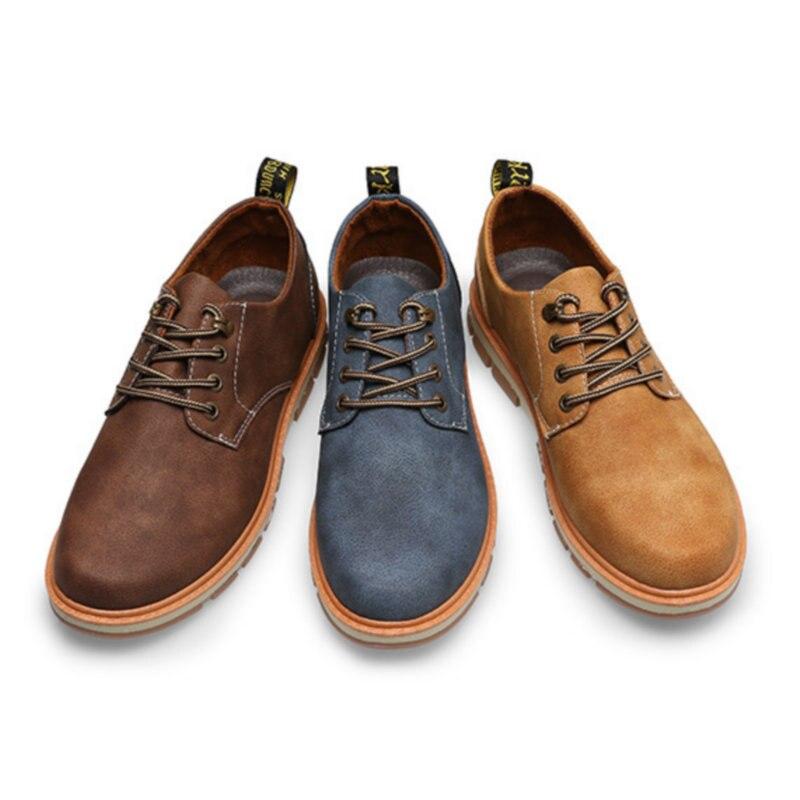 up Chaussures marron De Respirant Cuir Confortable Nouveaux or 017 Dentelle Occasionnels 2018 Aa Jeunes Gentleman Bleu Casual En Ectic Hommes Conduite q4wWH