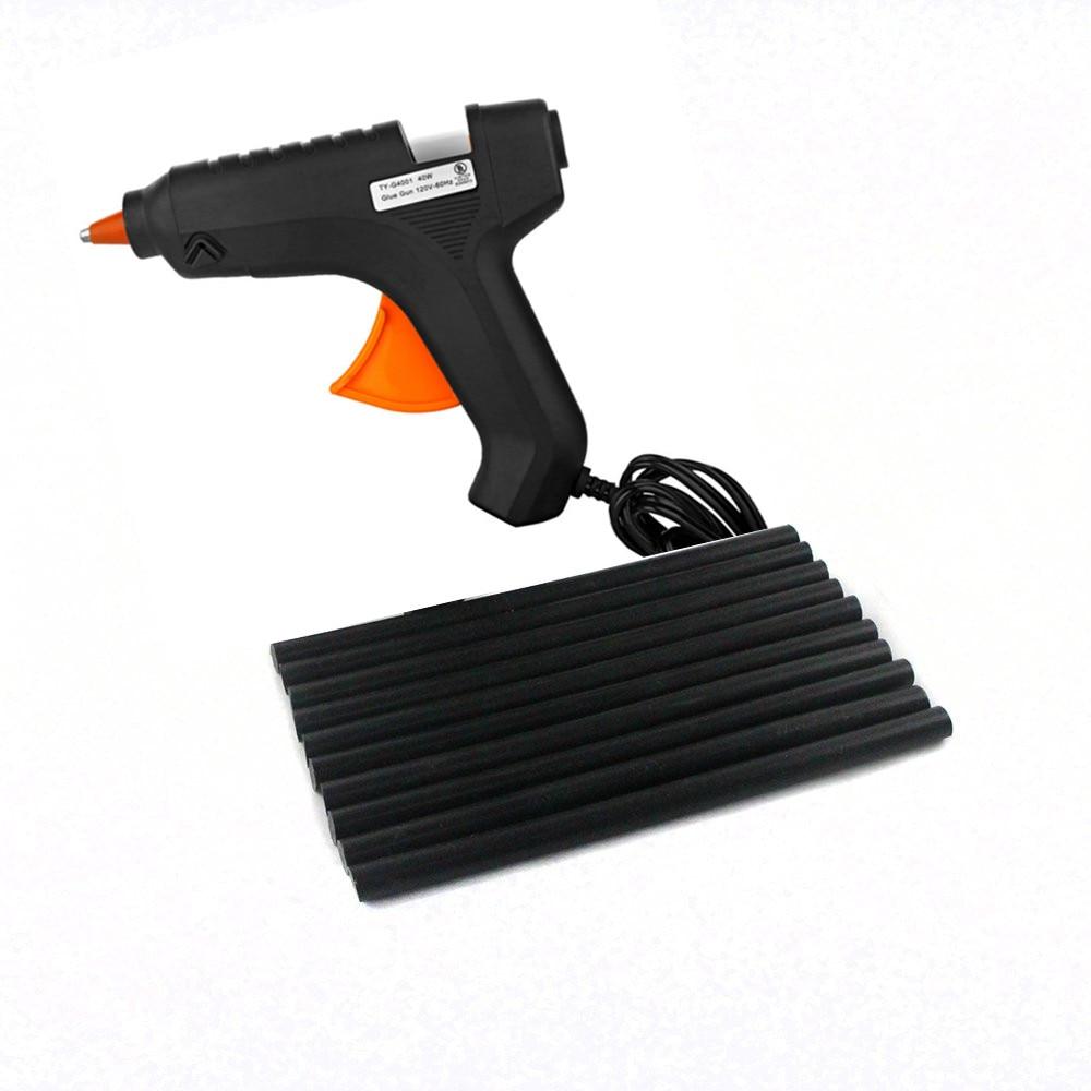 PDR Tools Dent Removal Paintless Dent Repair Auto Repair Tools PDR Glue Gun + Hot Melt Glue Sticks Glue Rods 21pcs /set