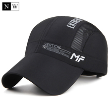 [NORTHWOOD] 2018 New Summer Baseball Cap Quick Dry Dad Hat Sport Fashion Sun Baseball Caps Breathable Ultra Thin Snapback