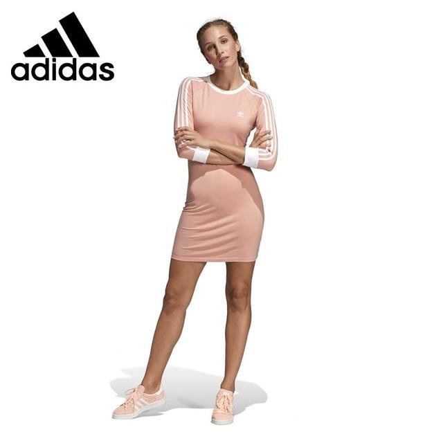 Original New Arrival  Adidas Originals  3 STRIPES DRESS Women's  Dress Sportswear