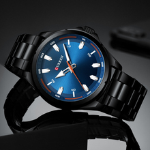 Military Men Watches 3ATM Waterproof Clock Male Sports CURREN Quartz Casual Wrist Watch Business Relogio Masculino