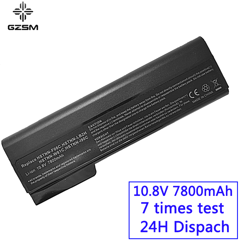 GZSM laptop <font><b>battery</b></font> 8460P For Hp ProBook 6460B 6470B 6560B 6570B 6360B 6465B 6475B 6565B 8470P 8560P 8460W 8470W <font><b>8570P</b></font> <font><b>battery</b></font> image