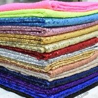 Brodé Sequin Tissu Par La Cour Sequin Tissu pour Tissu Enfants Literie Textile pour la Couture Tilda Poupée, BRICOLAGE À La Main Matériel