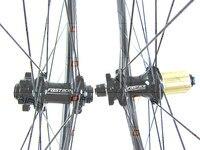 mtb carbon wheels 650B mtb 30mm Straight pull FASTace DA206 thru axle wheels carbon MTB wheel UD matte bicycle wheelset 1423