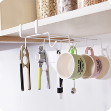 Iron Kitchen Cabinet Door After Storage Rack Wardrobe Storage Hangers Creative Storage Hooks