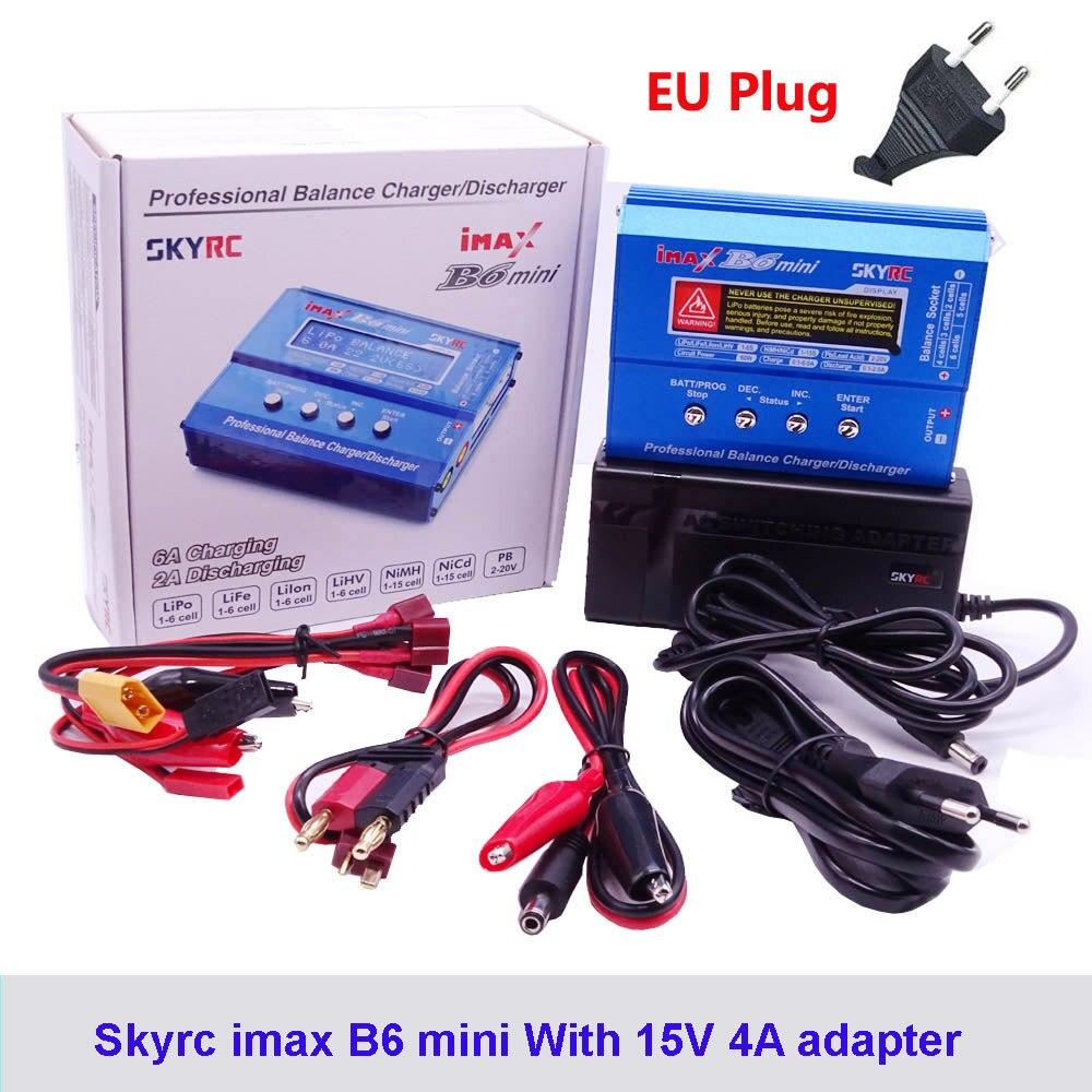 Origine SKYRC IMAX B6 MINI chargeur de balance Déchargeurs Pour hélicoptère rc Re-pic NIMH/NICD LCD chargeur de batterie intelligent - 6