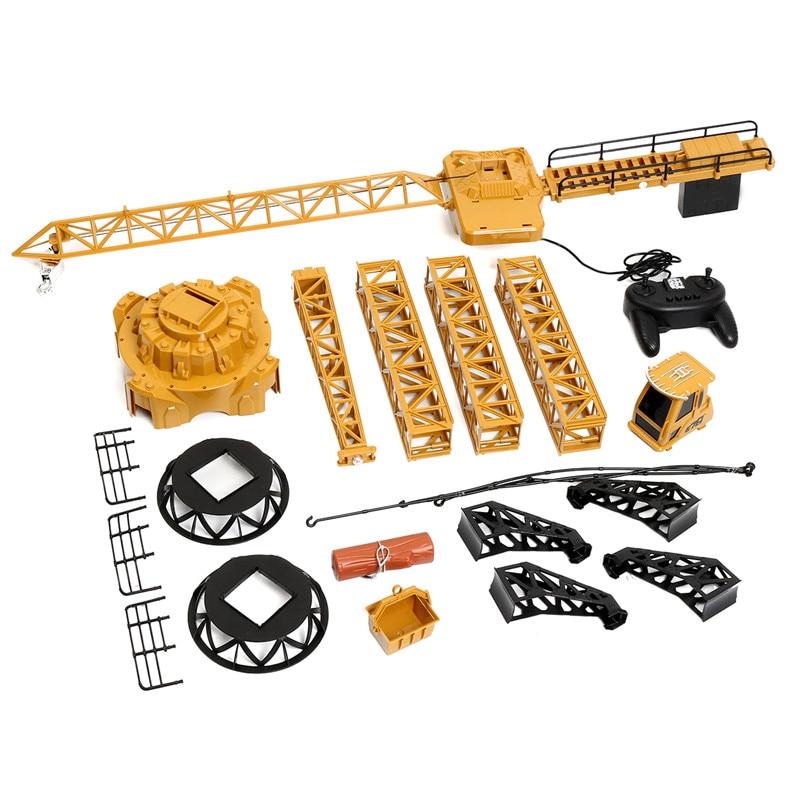 128 cm électrique télécommande grue jouet haute hauteur tour Construction grue ingénierie camion voiture véhicule enfants enfants cadeau amusant