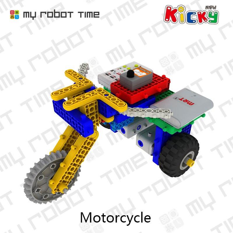 US $199 0 |MRT New Kicky Block Builder STEM Robotics Training Kit  Programmable Robot for Kids for STEM Summer Camp Courses Traning on  Aliexpress com |