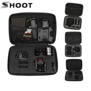 Image 1 - Портативный чехол для камеры Eva для GoPro 9 8 7 5 Black Xiaomi Yi 4K Eken H9r Sjcam M10 Go Pro Hero 7