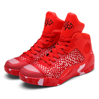 Fijne Nul Plus size 2017 Mannen Vrouwen Valentine Basketbalschoenen Hoge Top Rode Sneakers Zapatillas Deportivas Hombre Atletiek