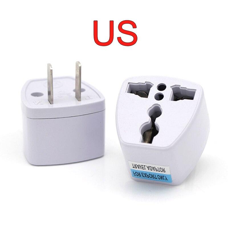 1 шт., универсальный адаптер питания для Великобритании, США, Австралии, ЕС, штепсельная вилка переменного тока, для путешествий, электрическ...