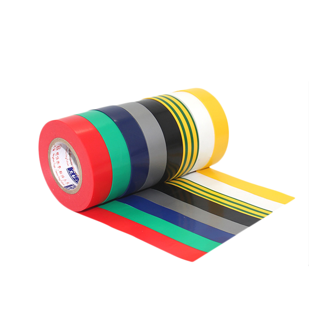 1PC 18M Electrical Insulation Adhesive Tape 10MM 15MM 18MM 30MM 45MM 50MM Width Waterproof PVC Wide High-temperature Tape Клейкая лента