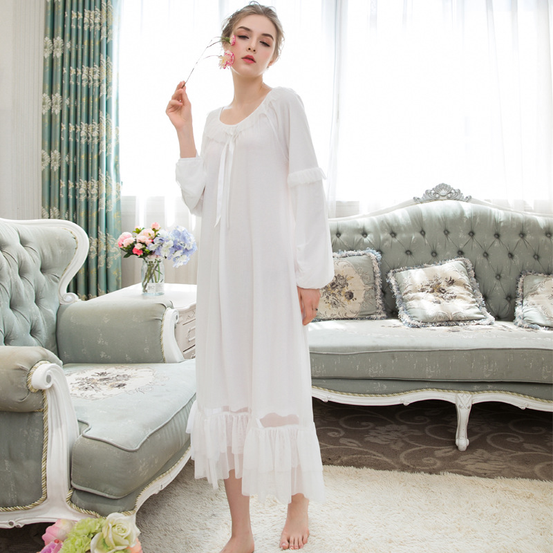 Sleepwear Women Dress Homes Sleep Dress Women Ladies Nighties 0870