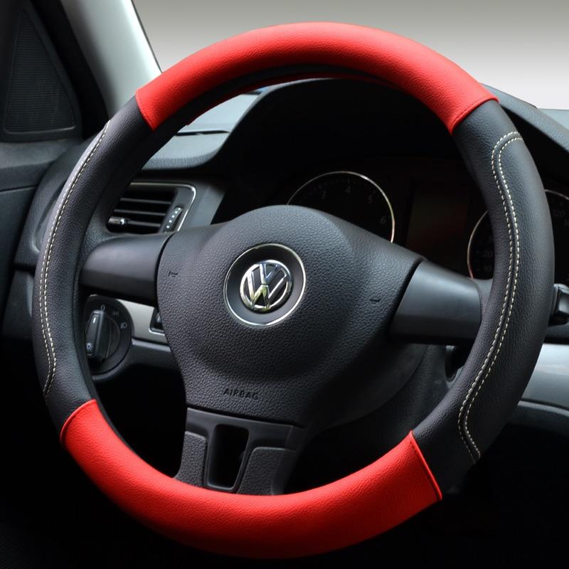 2018 Yeni spor Dört Mevsim araba direksiyon kapağı Araba Oto - Araç Içi Aksesuarları - Fotoğraf 2