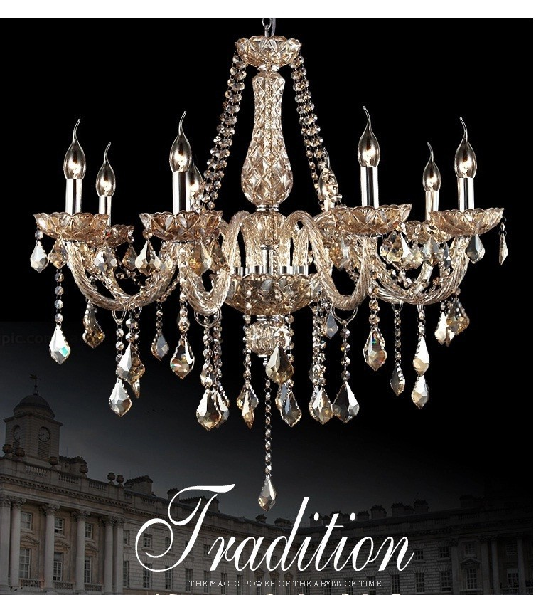 Хрустальная люстра, современная роскошная хрустальная кровать для гостиной, столовой, люстра для спальни, хрустальное освещение