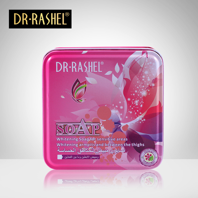 DRRASHEL Lady Soap Whitening  Armpits and Thighs Soap for Sensitive Areas Sabonete Pure Handmade Soap Deep Cleaning DR-016