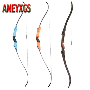 1 Unit Archery Shooting Games Bow Recurve Bow for Both Left And Right Hand CS Shooting Games Bow