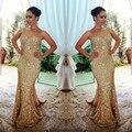 Vestidos De Festa Satin Beading Mermaid Sweetheart Neck Long Evening Dresses 2016 Sleeveless Floor Length Evening Dress
