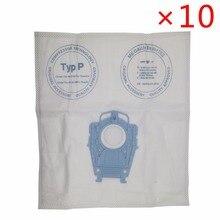 Aspiradora de buena calidad con filtro de microvellón, bolsa de polvo para Bosch Hoover, higiénica, profesional, BSG80000 468264, 10 unids/lote