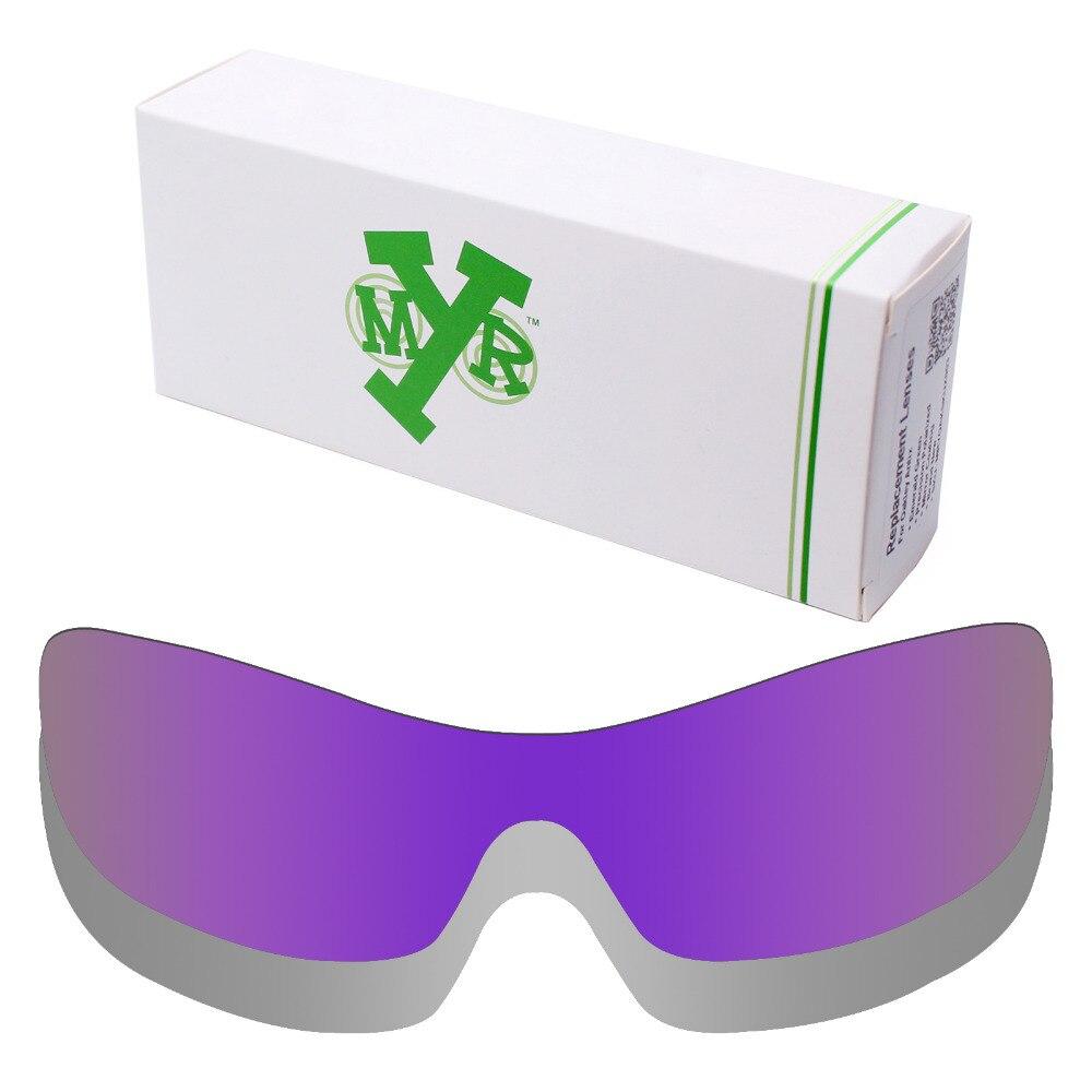 2 unidades mryok anti-Scratch polarizado Objetivos para Oakley ANTIX Gafas  de sol lente Titanium Silver   plasma Purple 4d87252f69