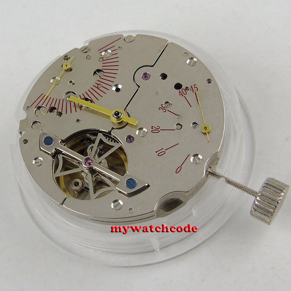 sea-gull 2505 date window power reserve indicator automatic mechanical movement все цены