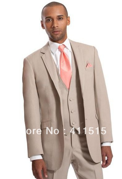 Free Shipping Custom Made Cheap Men Suits Slim Blazer Suits Blazer The Groom Wear Wedding Dress Man Formal Evening Vest Suit