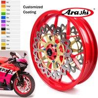 Arashi For HONDA CBR1000RR 2008 2017 Front Wheel Rim CBR1000RR CBR 1000 RR Rims Front Brake Disc Rotors 08 09 10 11 12 13 14 15